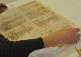 Konserwacja rękopisów